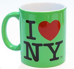 I Love NY Mug - Slime Green Photo