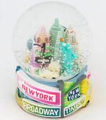 NYC Pastel Street Signs 45mm Snowglobe