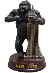King Kong Empire State Figurine - 5 Inch Photo