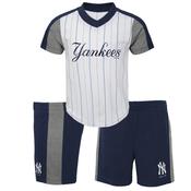 "Yankees Baby""Batting Practice"" Short Set"