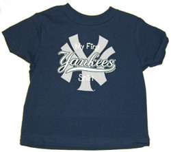 """Yankees Toddler """"My First"""" Navy Tee Photo"""