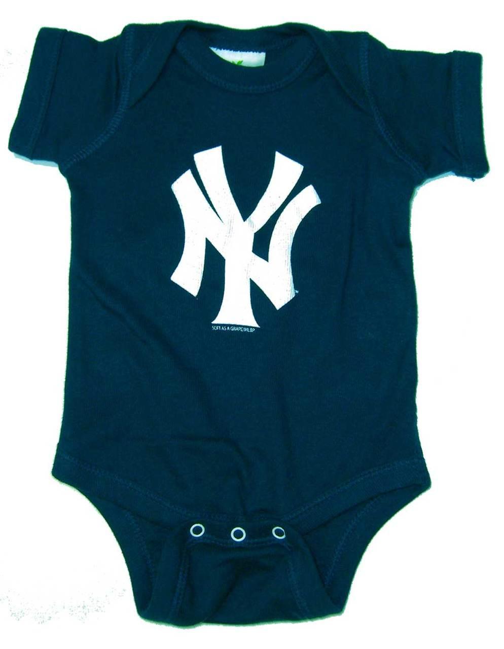 Ny yankees baby clothing infant yankee jerseys and yankee baby gear yankees baby ny navy creeper negle Choice Image