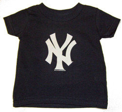 "Yankees Toddler ""NY"" Navy Tee Photo"