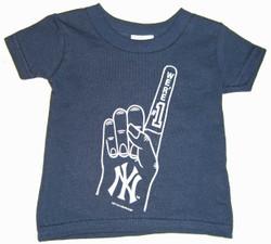 "Yankees Toddler ""We're #1"" Navy Tee Photo"