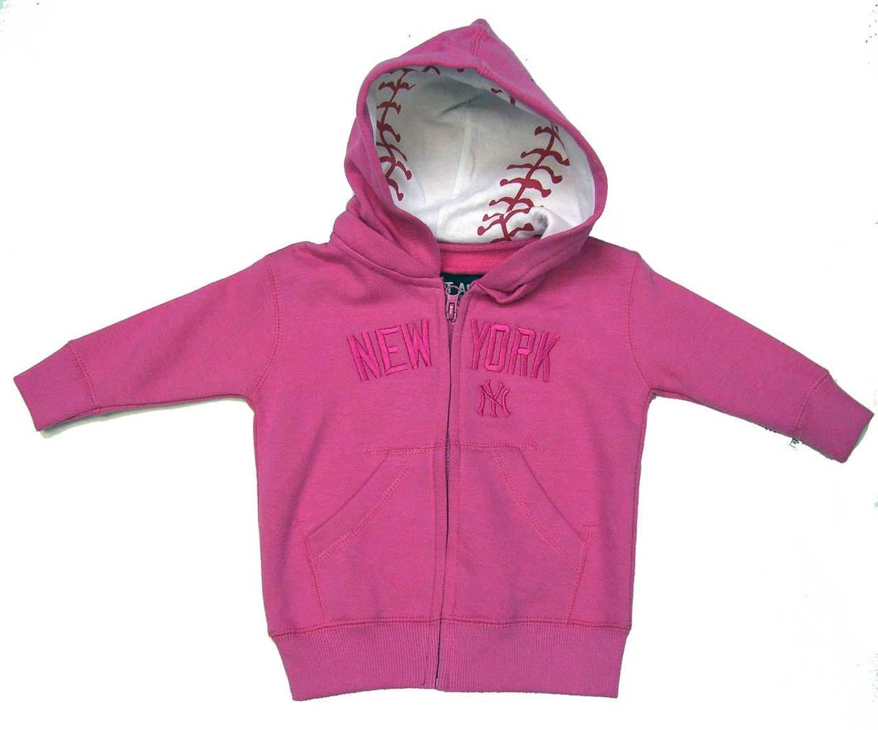 "Yankees Toddler ""Team ID"" Pink Sweatshirt photo"