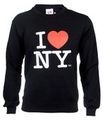I Love NY Crewneck Sweatshirt - Black