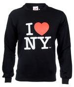 I Love NY Crewneck Sweatshirt - Black