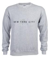 New York City #12 Ash Crewneck Sweatshirt Photo