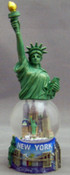 Statue of Liberty On Top Of 45mm Snowglobe