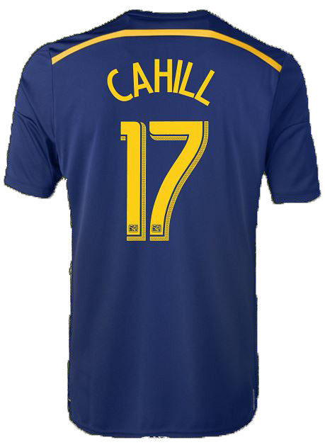 55ab71684 Tim Cahill  14 Navy Adidas Away Replica Jersey  New York Red Bulls
