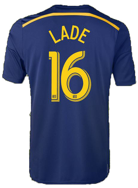 Connor Lade Navy Away Replica Jersey photo
