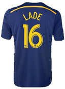 Connor Lade Navy Away Replica Jersey