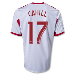 Tim Cahill White Primary Replica Jersey Photo