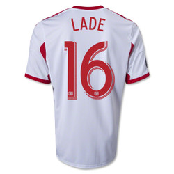 a1797237f Connor Lade  14 White Adidas Primary Replica Youth Jersey  New York ...