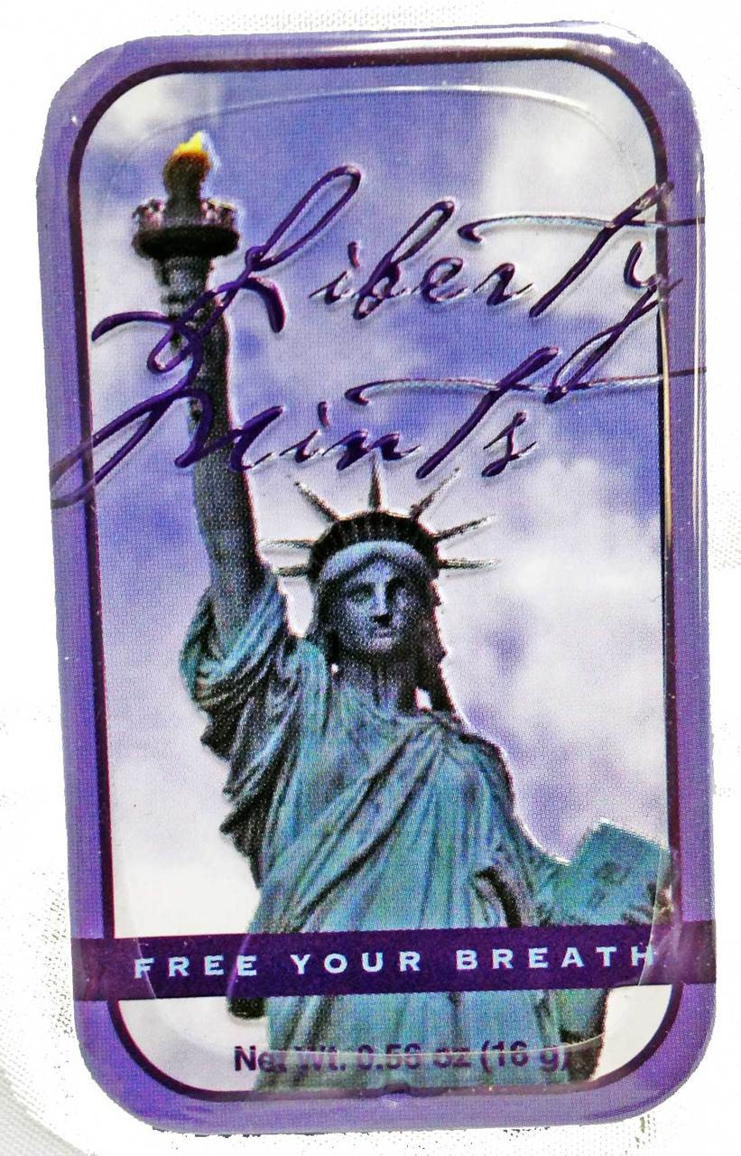 Statue of Liberty Breath Mints photo