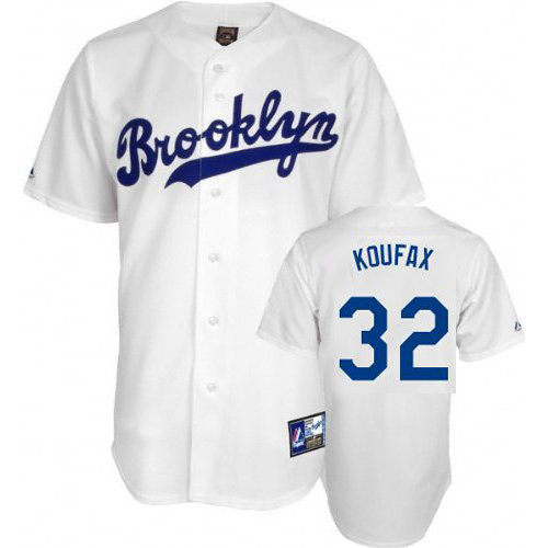 "Sandy Koufax Cooperstown ""Brooklyn"" Jersey  photo"