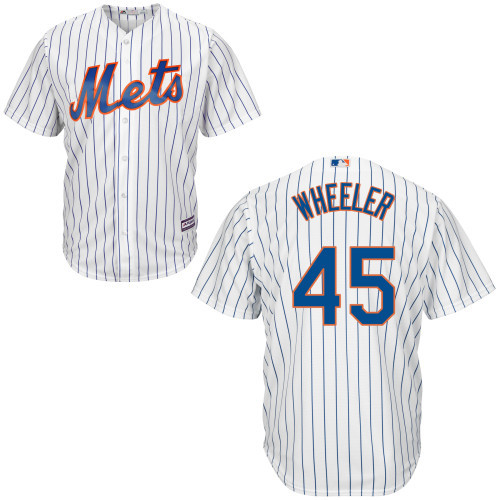 Zack Wheeler NY Mets Replica Youth Home Jersey photo