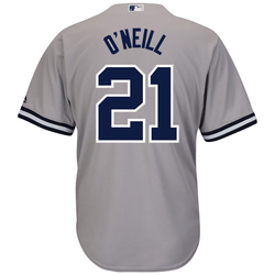 Paul Oneill NY Yankees Replica Road Jersey Photo