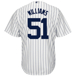 sports shoes ea2b9 3db0b Bernie Williams Jersey - Yankees Replica Home Jersey