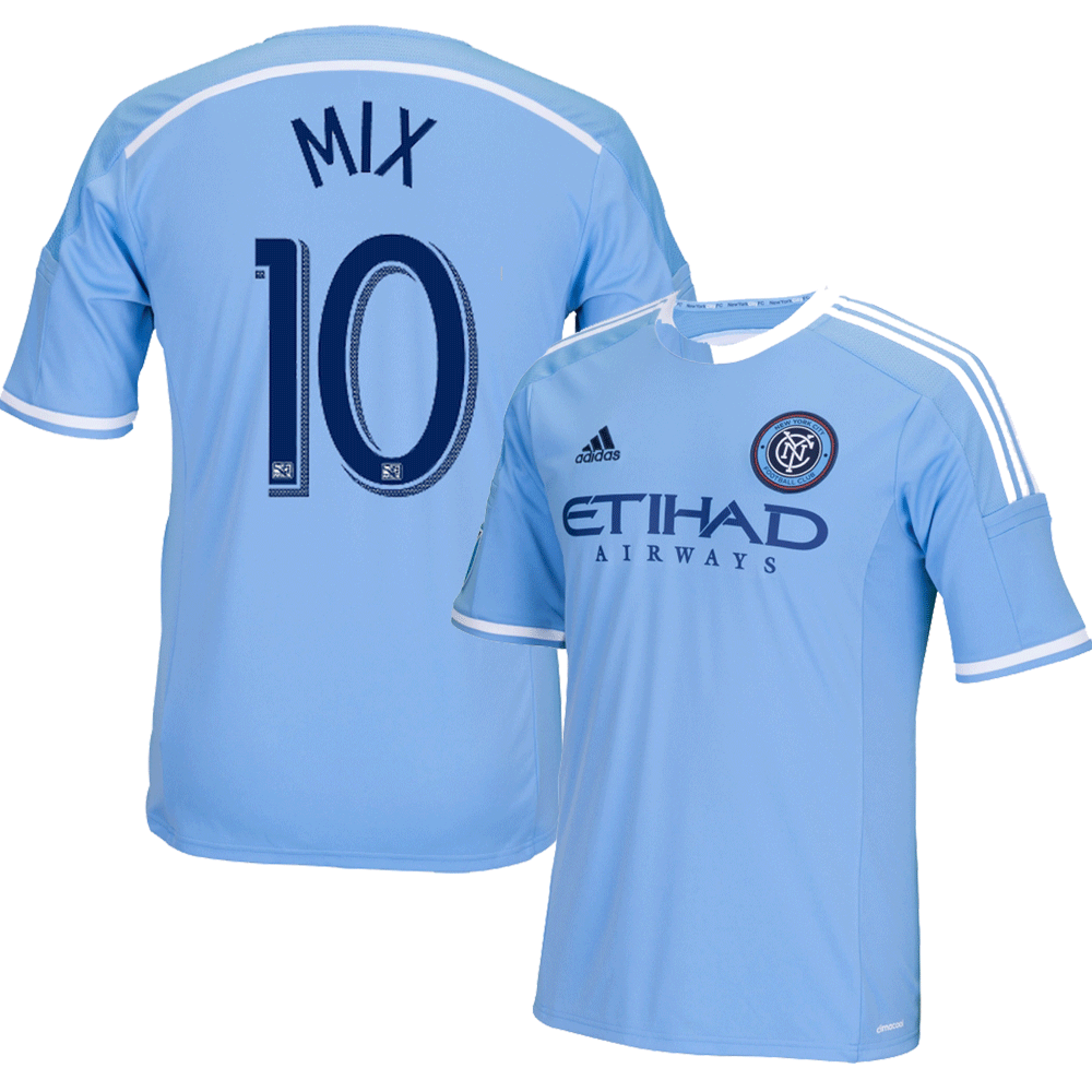 Mix Diskerud Blue Primary Replica Jersey photo