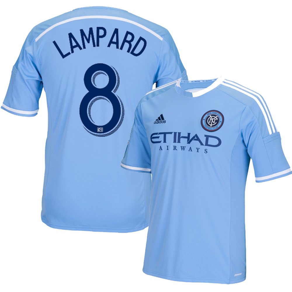 Frank Lampard Blue Primary Replica Youth Jersey photo