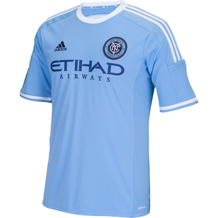 3cfce28a7 NYCFC  14 Blue Adidas Primary Replica Youth Jersey  NYCFC