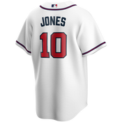 Chipper Jones Youth Jersey - Atlanta Braves Replica Kids Home Jersey