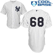 Dellin Betances No Name Jersey - Number Only Replica by Majestic