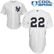 Jacoby Ellsbury No Name Jersey - Number Only Replica by Majestic