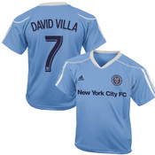David Villa Youth Jersey: NYFC Blue Call Up Jersey