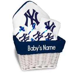 NY Yankees Personalized 6-Piece Gift Basket Photo