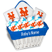 NY Mets Personalized 9-Piece Gift Basket