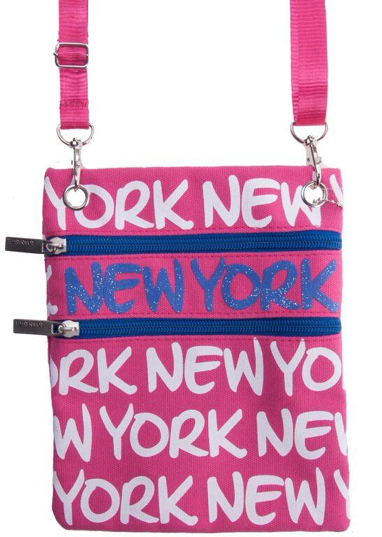 Robin-Ruth NY Pink Neck Wallet  photo