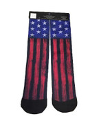 USA Bright Flag Tube Socks