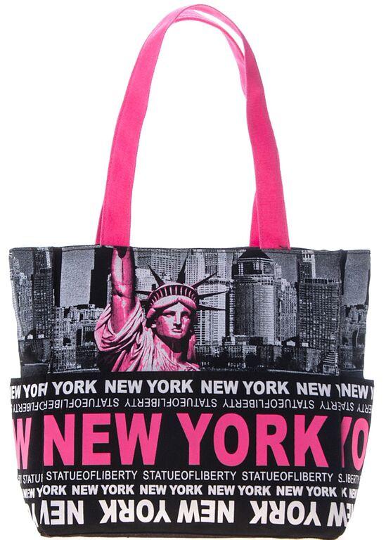 Robin-Ruth NY Pink Liberty Tote Bag photo