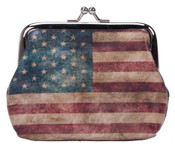 Robin-Ruth NY American Flag Coin Purse