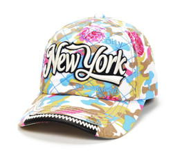 Robin-Ruth NY Floral Camouflage Cap- Light Photo