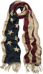 Robin-Ruth NY USA Flag Scarf Photo