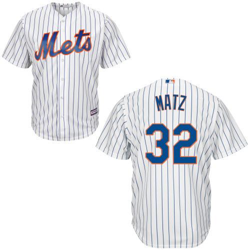 Steven Matz NY Mets Replica Youth Home Jersey photo
