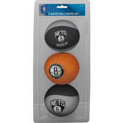 Brooklyn Nets Softee Basketball Three-Ball Set