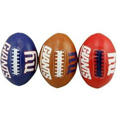 New York Giants Third Down Softee 3-Ball Set  Photo