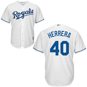 Kelvin Herrera KC Royals Replica Youth Home Jersey