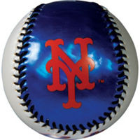 New York Mets Soft Strike Baseball Photo