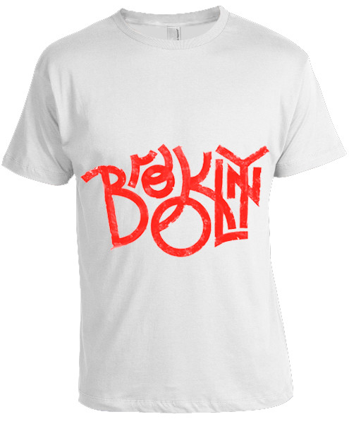 Brooklyn T-shirt -White  photo