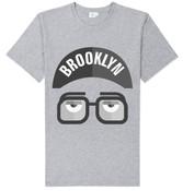 Brooklyn Face T-shirt -Grey