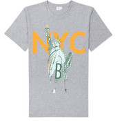 NY Liberty T-shirt- Grey