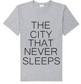 NY The City That Never Sleeps T-shirt -Grey