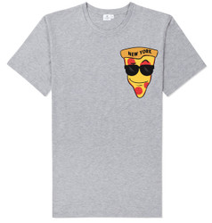 NY Loves Pizza T-shirt -Grey Photo