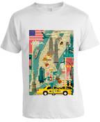 Scenic NY T-shirt -White