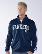 NY Yankees Space Dye Zip-Up